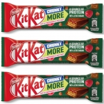 (Triple Pack) Kit Kat Chunky More (Raspberry & Hazelnuts) 3x42g