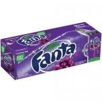 Case 12 Fanta Grape USA Soda