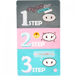 Holika Pig Nose Clear Black Head 3-Step Kit 1p